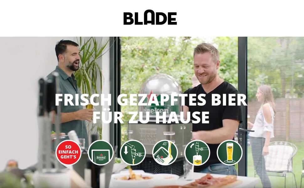 Heineken Blade Zapfanlage Juist Lieferdienst